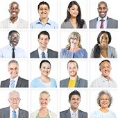 Portrait of Multiethnic Diverse Business People