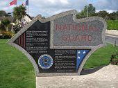 picture of ww2  - Monument to US National Guard in WW2 D - JPG