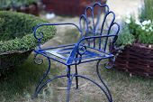 The Vintage Iron Chair