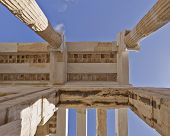 ceiling of ancient greek building