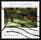 Postage Stamp Germany 2013 Die Rasenbleiche, By Max Liebermann