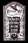 Witches Way Menu