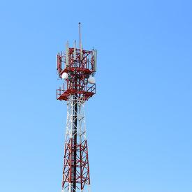 pic of antenna  - communication antenna and telecommunication radio antenna and mobile tower communication antenna - JPG