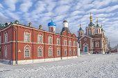 Churches In Kolomna Kremlin
