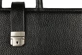 Classic Men's Briefcase With A Lock And Handle