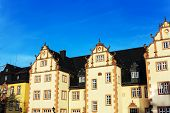 Friedberg Castle, near Bad Nauheim and Frankfurt, Hesse, Germany