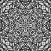 picture of lace-curtain  - Radial curtain lace generated texture or background - JPG