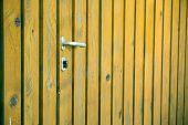 Natural Wooden Door Background