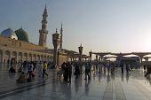 Nabawi Mosque, Medina, Saudi Arabia