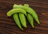 stock photo of okras  - Asian vegetable  - JPG
