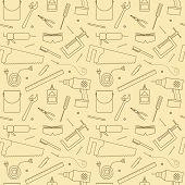 Seamless Workshop Tools Pattern