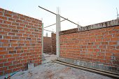 Brick Of Building Construction House