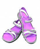 Pair Of Summer Sandals