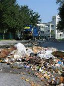 Garbage Truck Mishap