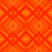 Orange pattern with geometric shapes.