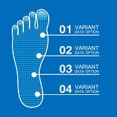Foot prints info