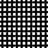 Monochrome abstract seamless pattern.