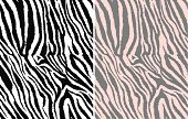 repeated seamless zebra pattern