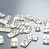 Multiple domino bones composition