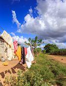 Haitian Refugee Camp In Dominican Republic
