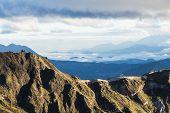Highland Andes Near Quilotoa Lagoon, Ecuador, South America