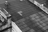 Rooftop Of Building In Bangkok
