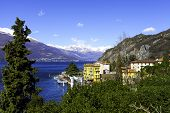 Varenna, Lecco lake shores. Color image