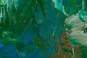 abstract painting fragment