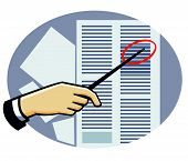 Hand-pointing-data-sheet