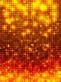 fire disco mosaic background