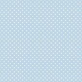 Seamless Polka Dot Pattern, Pastel Blue