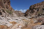 Harsh terrain in Nevada