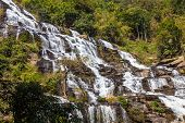 Mae Ya waterfall is tourist attraction and one of the most beautiful waterfall in Chiang Mai