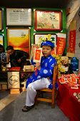 Vietnam Tet, Asian Kid, Calligraphy Fair