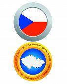 Button As A Symbol Czech Republic
