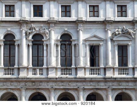 Historic Building In Italian City poster