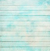 stock photo of decoupage  - Rustic old plank background in turquoise - JPG