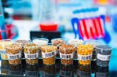 image of legume  - agricultural grains and legumes in the laboratory - JPG
