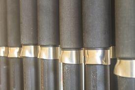 stock photo of fly rod  - Fishing rod Many Fishing rod in store - JPG