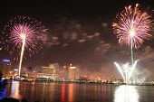 Fireworks In New Orleans