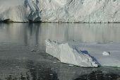 Brash Ice, Icebergs And Icefall