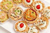 Canapes Reaady To Serve