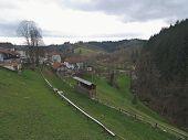 Predjama Castle Valley