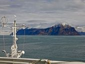 View Of Mountains Of Svalbard From Cruise Liner
