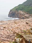 Beach at HK, China
