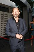 LOS ANGELES, CA - AUGUST 30: Tommy Flanagan at the FX's 'Sons Of Anarchy' season 4 premiere at the A