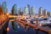 Marina Dawn, Coal Harbor, Vancouver