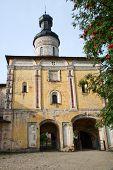 The Kirillo-belozersky Monastery. Holy Gates And Churh Of St. John Climacus. 1572