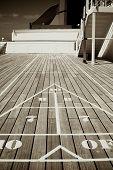 Triangular Shuffle Board Target