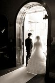 picture of wedding couple  - wedding - JPG
